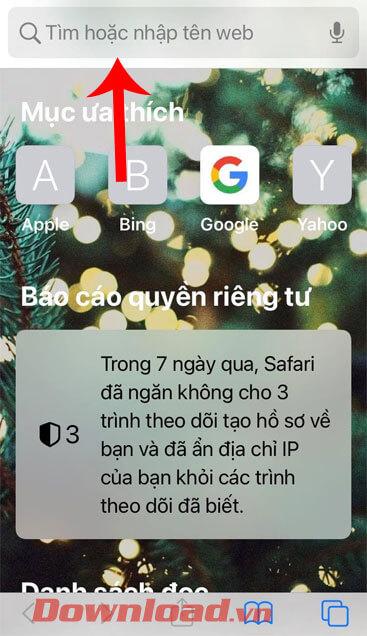 """<p><strong>Bước 4: </strong>Sau đó, <strong>mở ứng dụng Safari </strong>trên điện thoại của bạn """"/></div> </li> </ul> </div> </div> </div> <div class="""