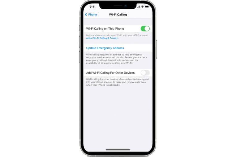 Làm thế nào để sử dụng tính năng Gọi qua Wi-Fi trên iPhone?
