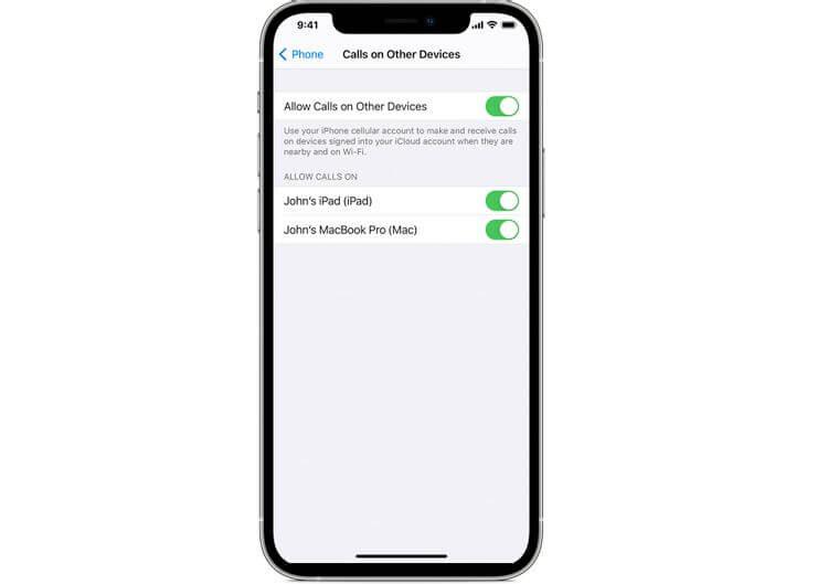 Gọi qua Wi-Fi trên iPhone