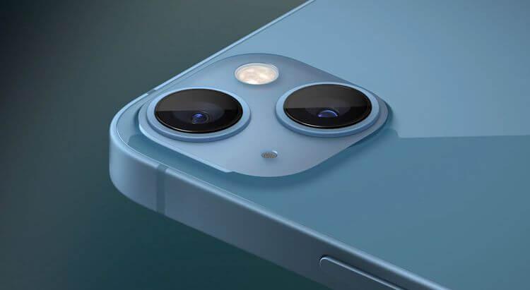 Máy ảnh trên iPhone 13