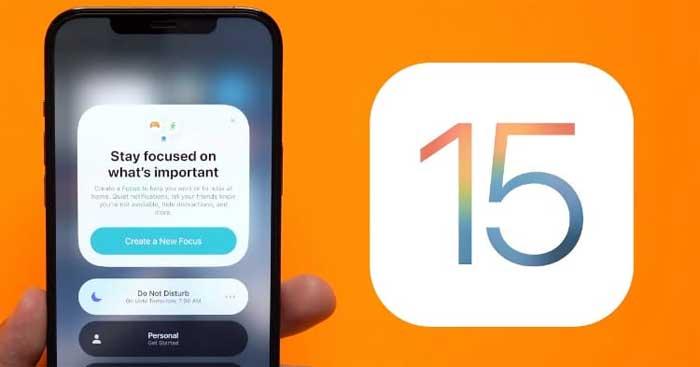 Cách sửa lỗi Focus trên iOS 15