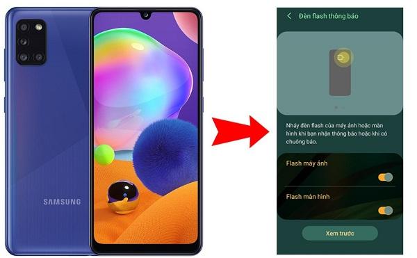 Bật tắt màn hình khi có thông báo trên điện thoại Samsung