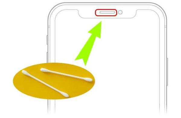 Vệ sinh màng ngăn iPhone 11 Pro Max