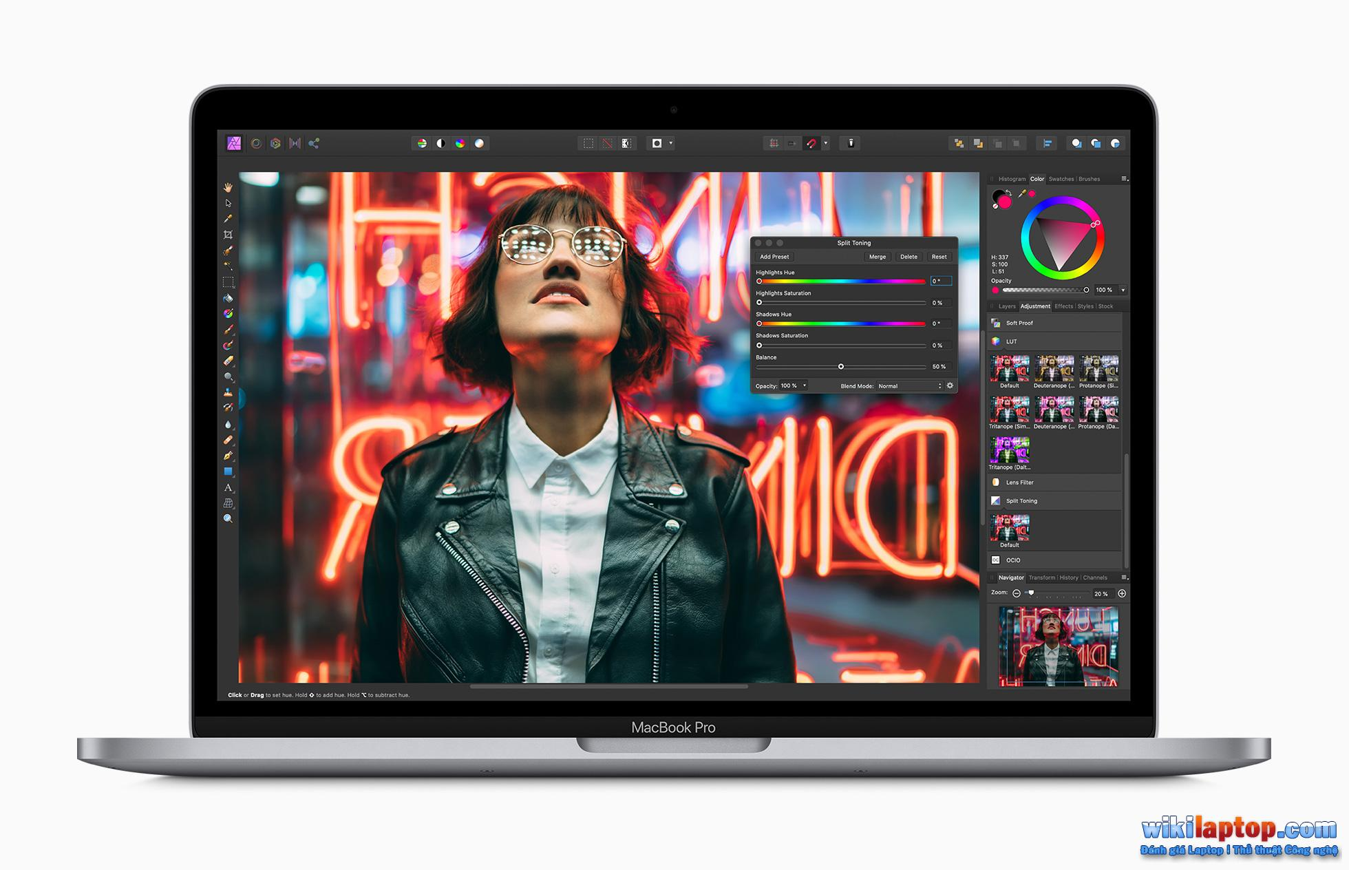 Sforum - Trang tin công nghệ Apple Apple_macbook_pro-13-inch-with-affinity-photo_screen_05042020-1 MacBook Air 2020 và MacBook Pro 2020 13 inch: Tùy chọn nào phù hợp với chi phí và nhu cầu?