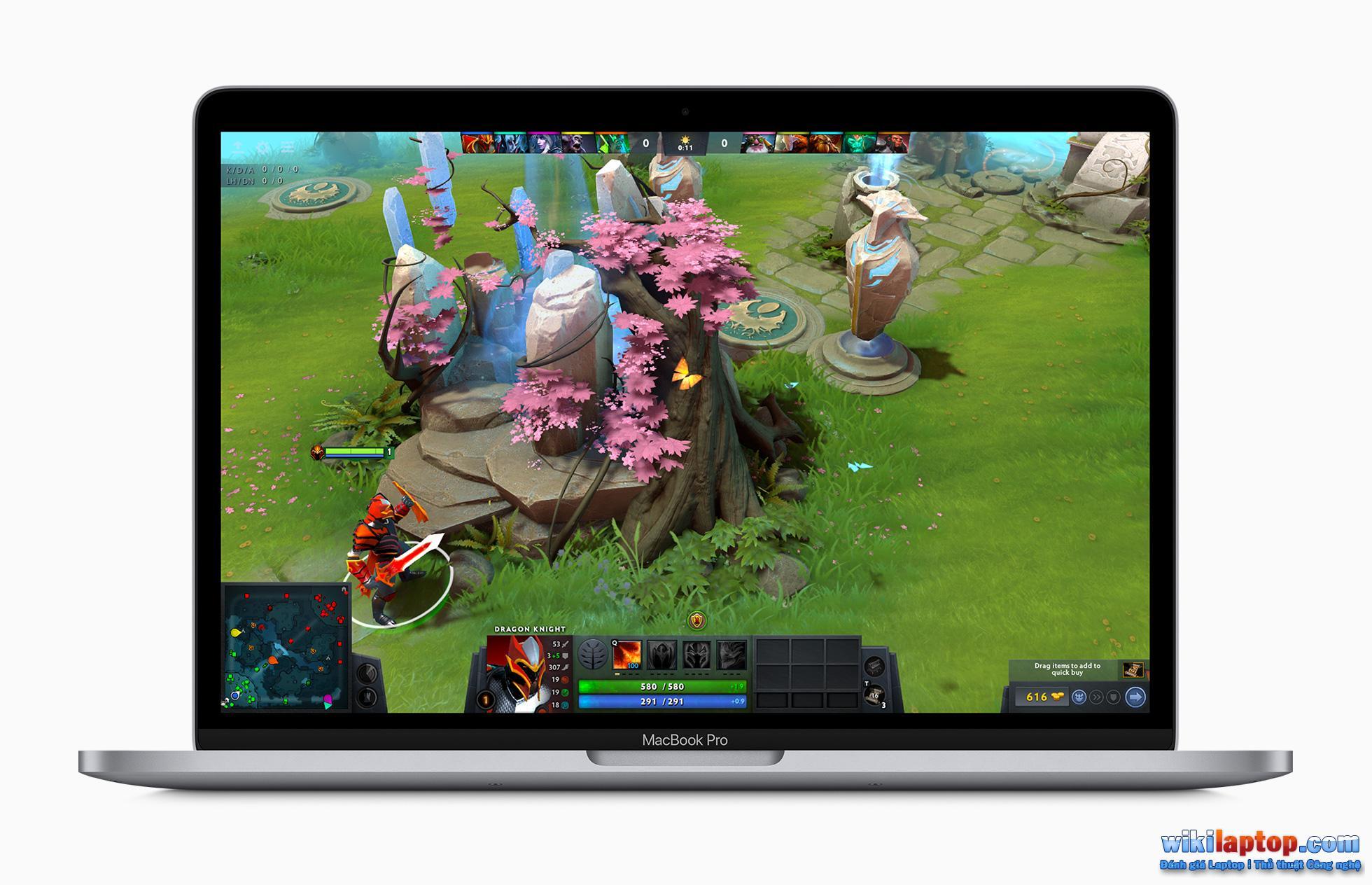 Sforum - Trang thông tin công nghệ mới nhất Apple_macbook_pro-13-inch-with-dota-2-game_screen_05042020 MacBook Air 2020 và MacBook Pro 2020 13 inch: Tùy chọn nào phù hợp với chi phí và nhu cầu?