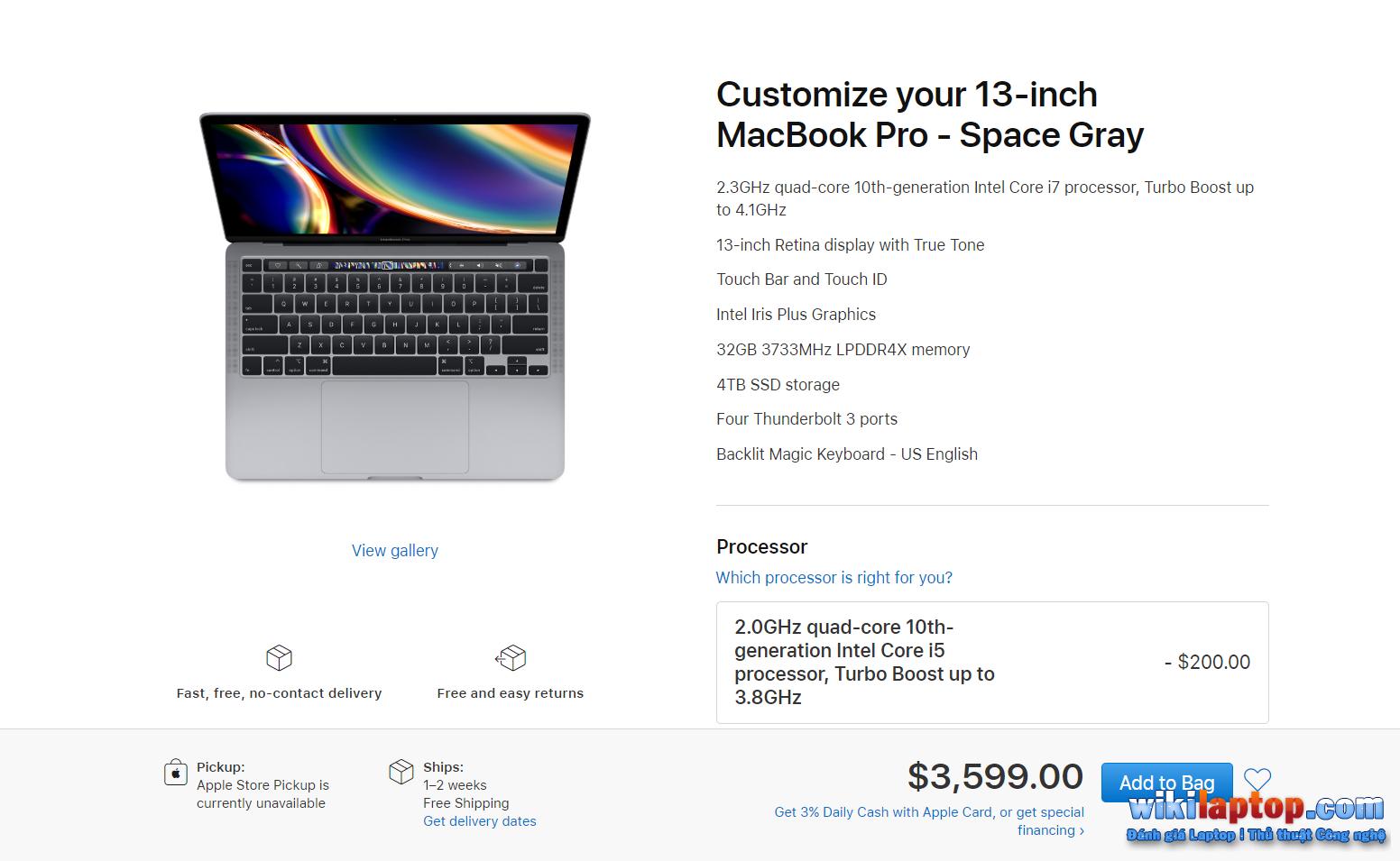 Sforum - Chú thích - 2020-05-05-074854 MacBook Air 2020 và MacBook Pro 13 inch 13 inch: Tùy chọn nào phù hợp với chi phí và nhu cầu?