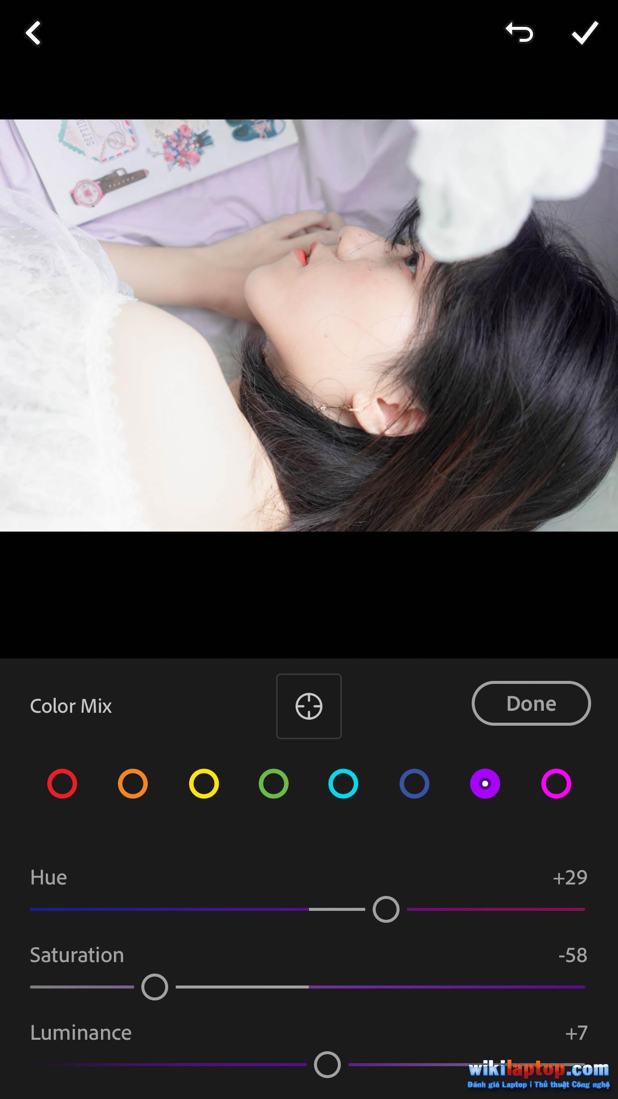 Sforum - Trang thông tin công nghệ mới nhất IMG_5555 Lightroom Mobile # 8: Điều chỉnh tông màu sáng Trắng - Trắng trong nhà và hồng với Lightroom Mobile.