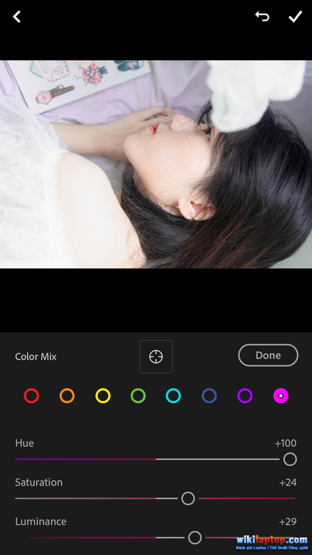 Sforum - Trang thông tin công nghệ mới nhất IMG_5556 Lightroom Mobile # 8: Điều chỉnh tông màu Trắng sáng - Trắng và hồng trong nhà với Lightroom Mobile.