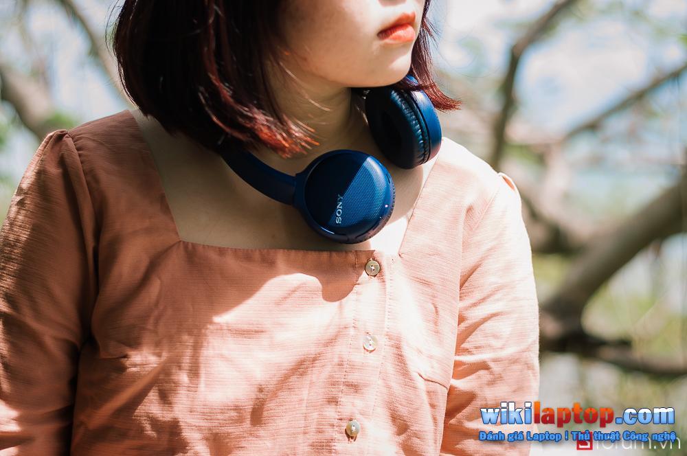 Sforum - Trang thông tin công nghệ mới nhất DSC_8069 Trải nghiệm tai nghe bluetooth on-ear nhanh Sony WH-CH510: Nhỏ gọn, mượt mà, pin 35 giờ, giá chỉ 1 triệu