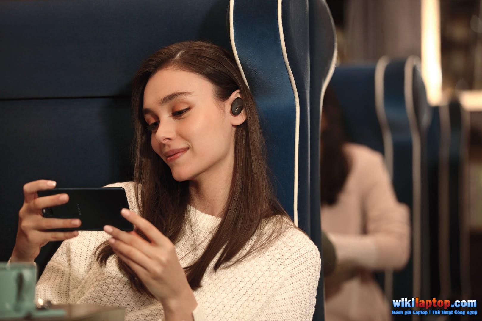 Sforum - Sony-wf-1000xm3-anc-true-không dây-tai nghe-5 trang thông tin công nghệ Sony WF-1000XM3 lợi thế