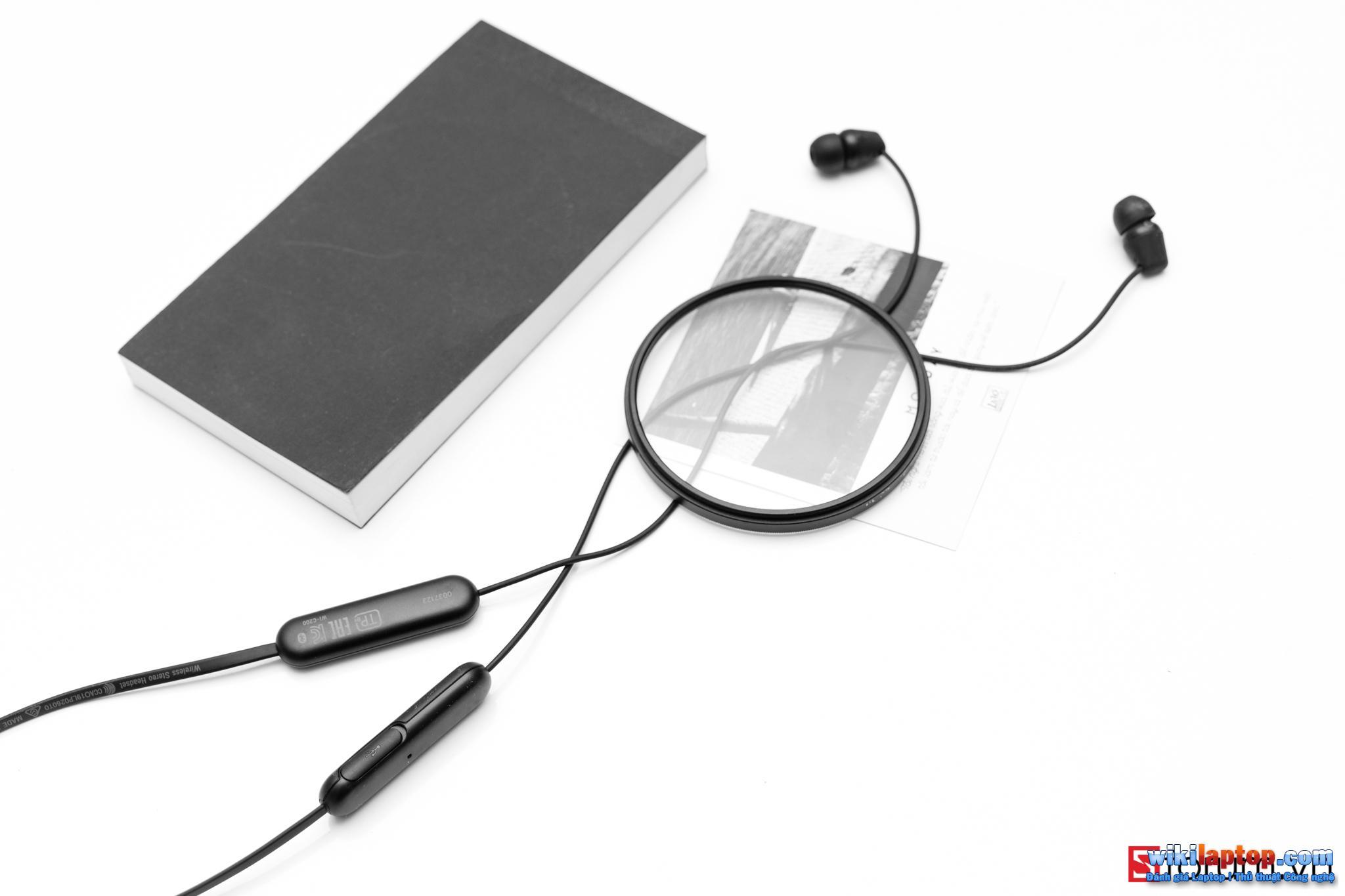 Sforum - Trang thông tin công nghệ mới nhất CPS-Sony-C200-7 Trải nghiệm SONY WI-C200: Tai nghe Bluetooth 5.0, hỗ trợ sạc nhanh, pin 12 giờ và chỉ 990.000 đồng