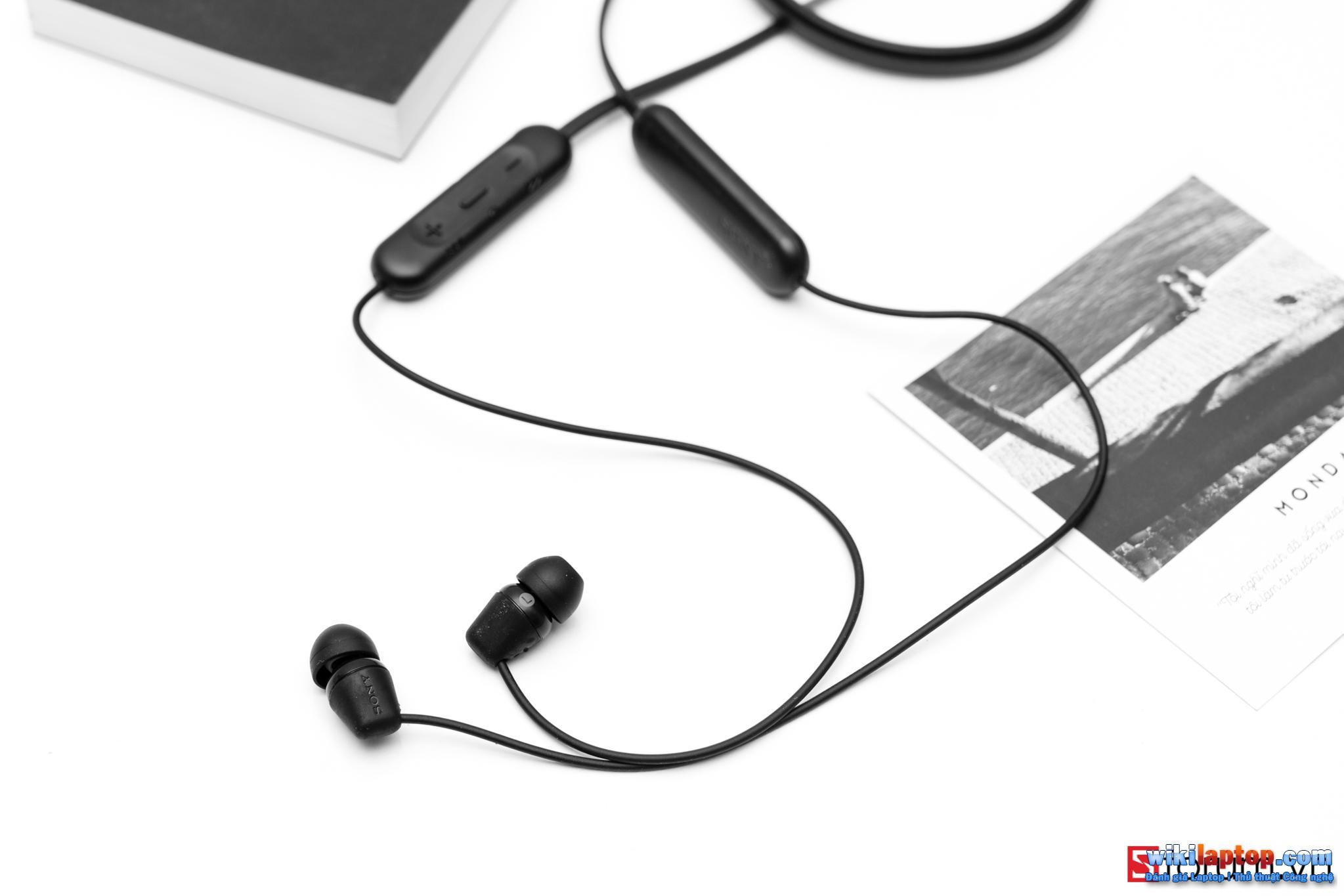 Sforum - Trang thông tin công nghệ mới nhất CPS-Sony-C200-16 Trải nghiệm SONY WI-C200: Tai nghe Bluetooth 5.0, hỗ trợ sạc nhanh, pin 12 giờ và chỉ 990.000 đồng