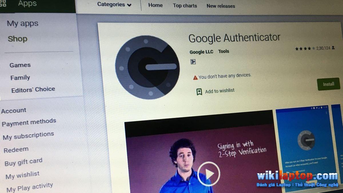 Sforum - Trang thông tin công nghệ mới nhất 7-1 Chuyển mã xác minh trên Google Authenticator sang thiết bị mới