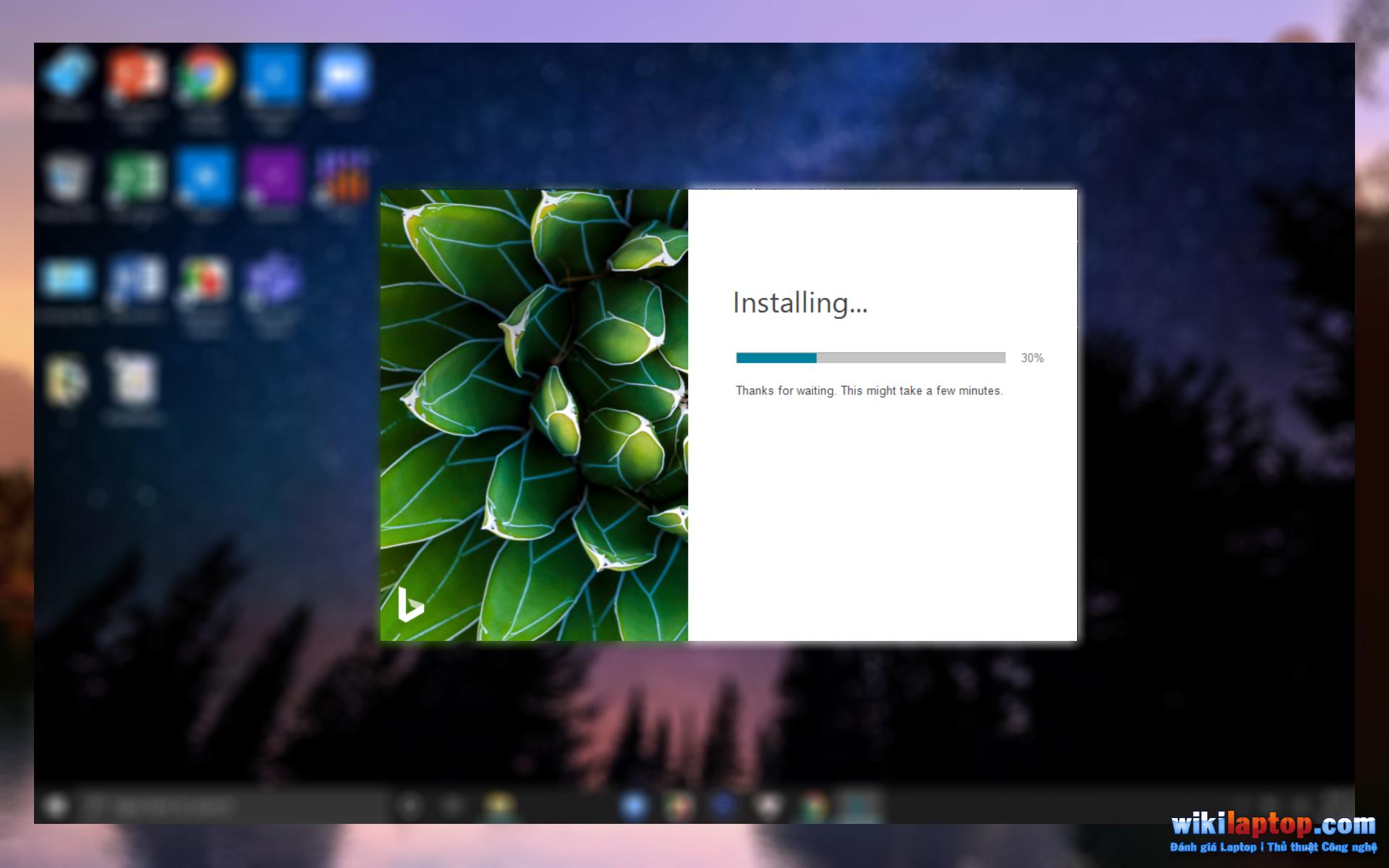 Sforum - Thay đổi trang thông tin công nghệ mới nhất-desktop-hình nền-ngay lập tức với Bing-Wallpaper3 Cách tự động thay đổi hình nền máy tính để bàn thông qua ứng dụng Hình nền Bing