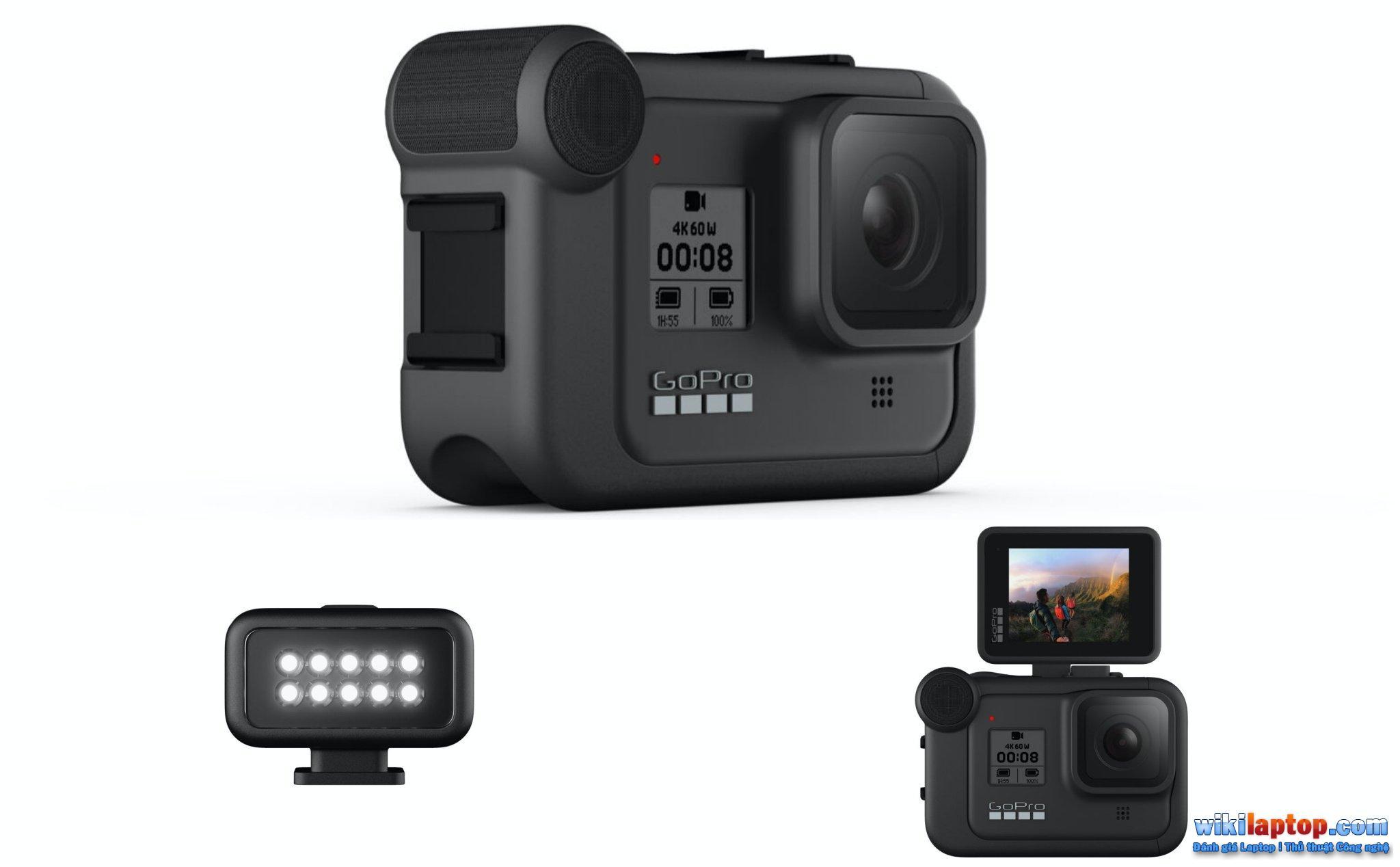 Sforum - Trang thông tin công nghệ mới nhất GO-7 Đánh giá GoPro Hero 8 Black: Cải tiến hiện đại, chống rung tốt, ghi âm tốt, tùy chỉnh theo nhu cầu của người dùng