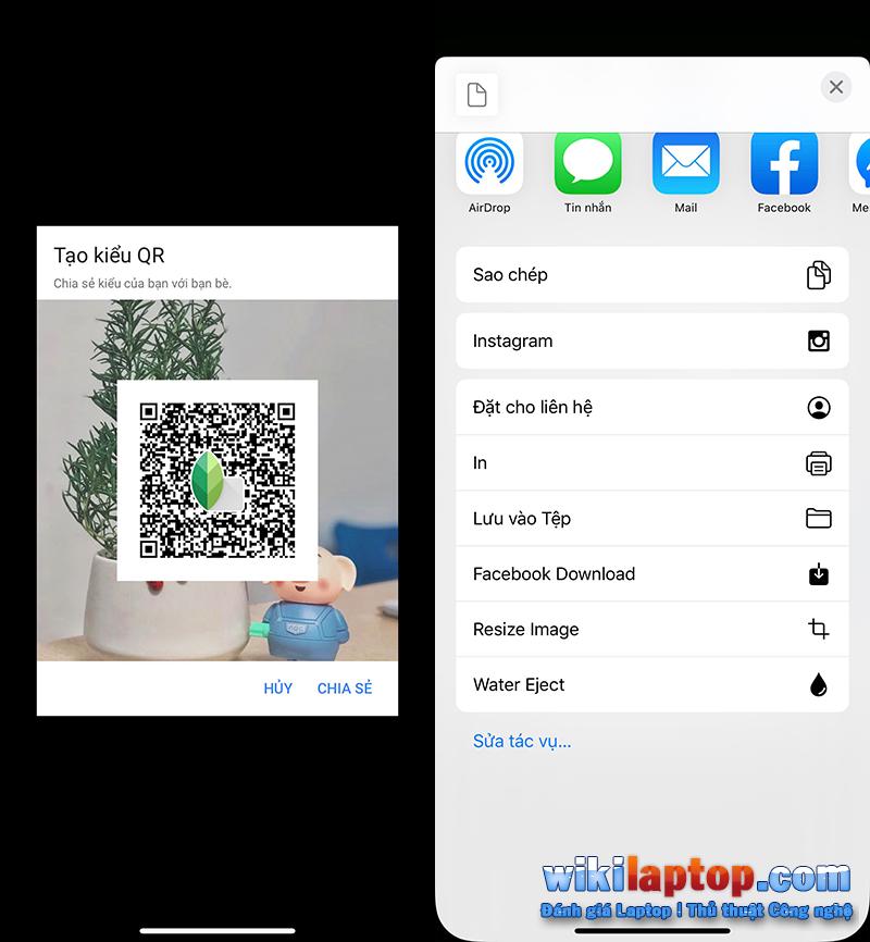 Sforum - Trang thông tin công nghệ mới nhất Chưa có tiêu đề-1-6 Hướng dẫn chỉnh sửa ảnh màu cực kỳ dễ dàng với Snapseed chỉ bằng cách quét mã QR