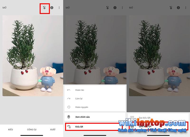 Sforum - Trang thông tin công nghệ mới nhất Chưa có tiêu đề-1-9 Hướng dẫn chỉnh sửa ảnh màu cực kỳ dễ dàng với Snapseed chỉ bằng cách quét mã QR