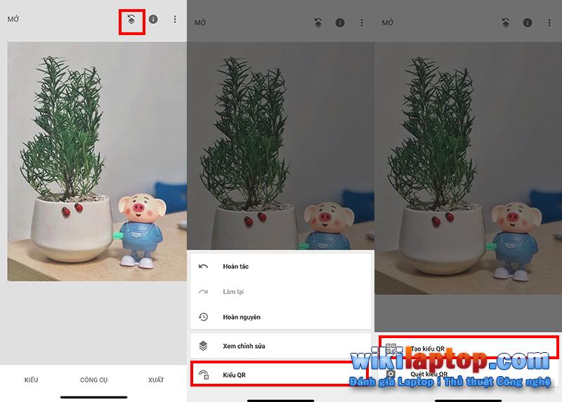 Sforum - Trang thông tin công nghệ mới nhất Chưa có tiêu đề-1-7 Hướng dẫn chỉnh sửa ảnh màu cực kỳ dễ dàng với Snapseed chỉ bằng cách quét mã QR