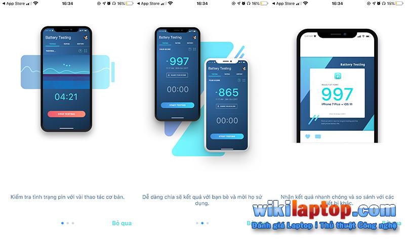 Sforum - Trang thông tin công nghệ mới nhất 1-40 Hướng dẫn cách đo pin tiêu chuẩn cho thiết bị iOS