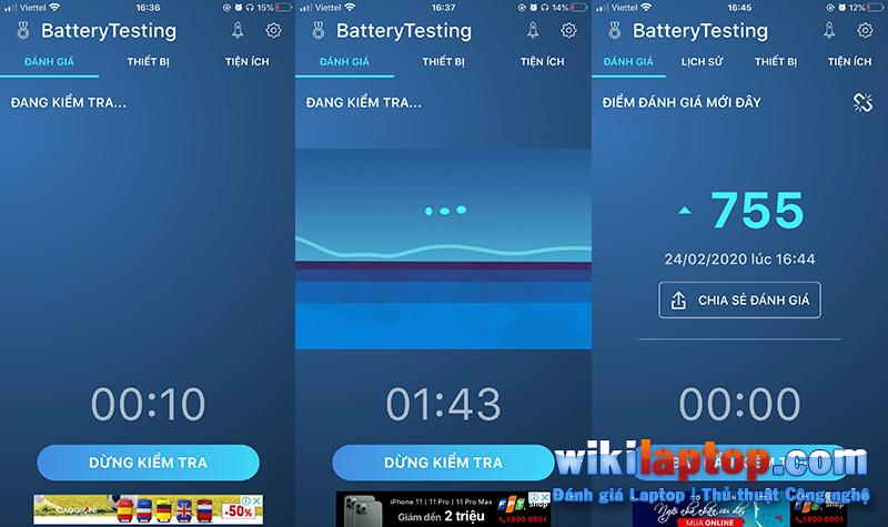 Sforum - Trang thông tin công nghệ mới nhất 1-41 Cách đo pin tiêu chuẩn cho thiết bị iOS