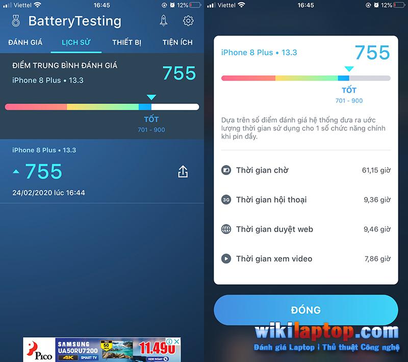 Sforum - Trang thông tin công nghệ mới nhất 1-42 Hướng dẫn cách đo pin tiêu chuẩn cho thiết bị iOS