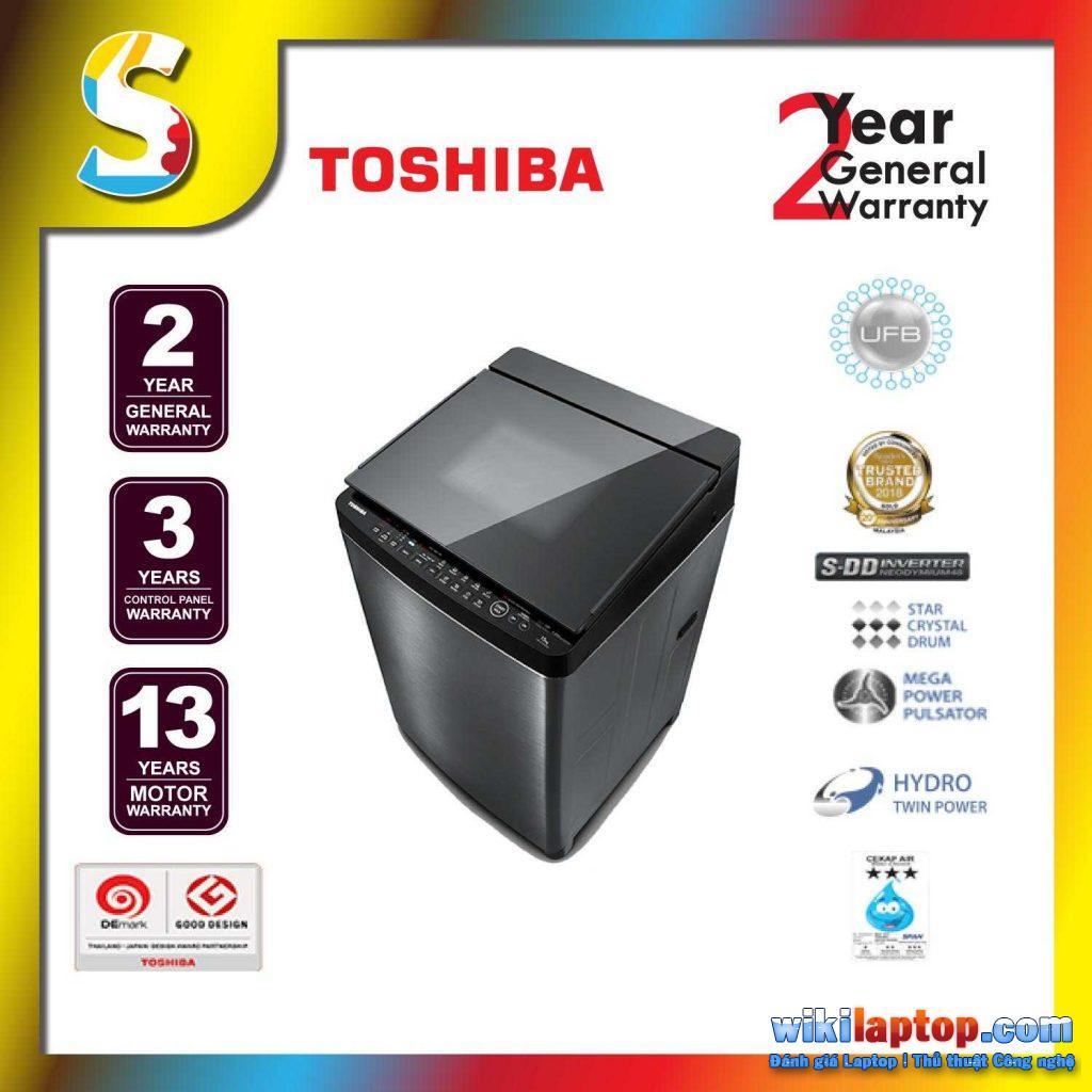 Máy giặt biến tần Toshiba S DD sử dụng công nghệ tiên tiến