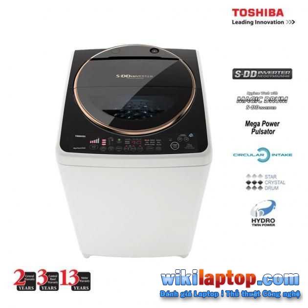 Máy giặt biến tần Toshiba S DD có nhiều ưu điểm tuyệt vời