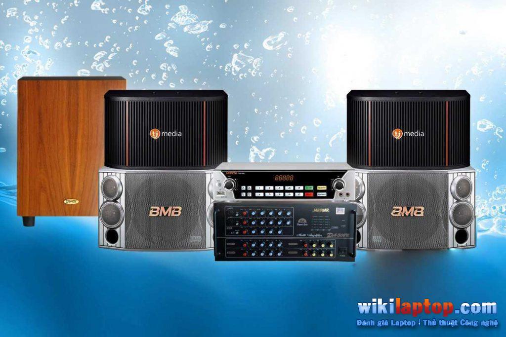 Sử dụng bộ khuếch đại tiêu chuẩn cung cấp chất lượng âm thanh vượt trội