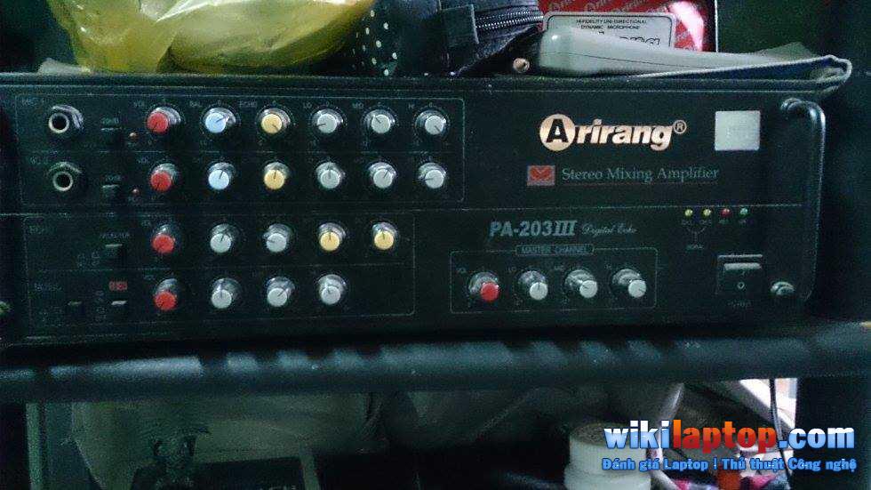 Bộ khuếch đại karaoke Arirang PA 203III