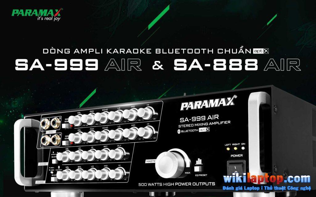 Paramax SA888 Karaoke Air New 2018