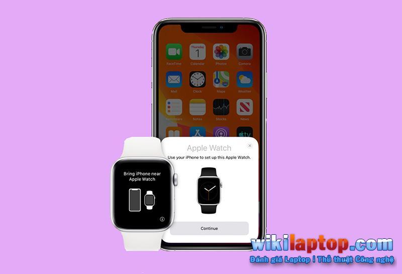 Có thể mở Apple Watch trên iPhone và chọn ghép nối đồng hồ mới