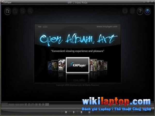 Phần mềm phát video KMPlayer