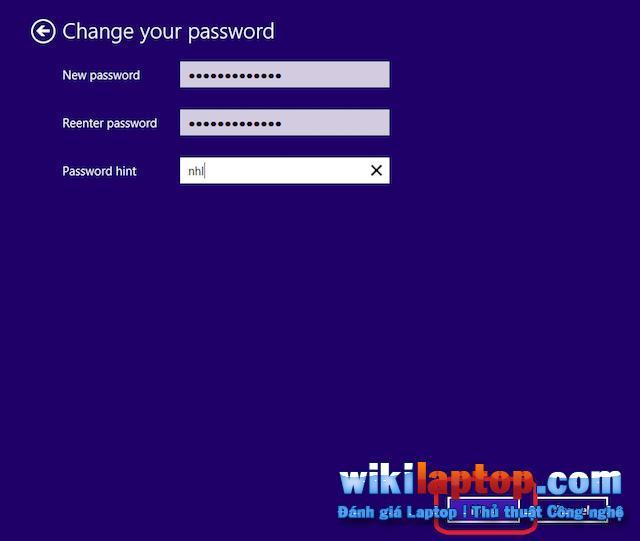 Nhập mật khẩu đầy đủ để lưu