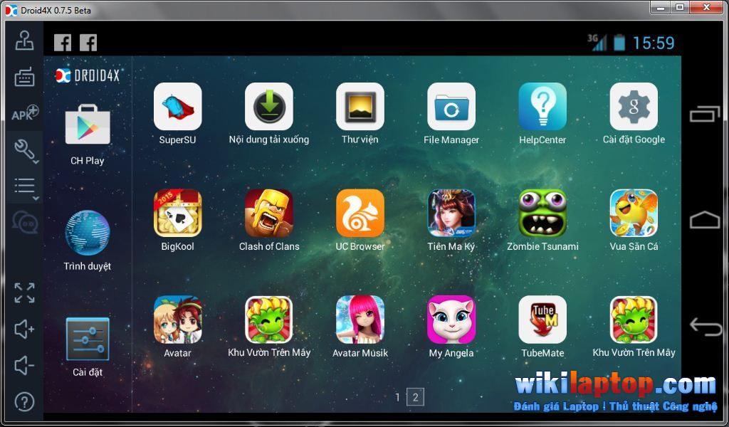 Sforum - Trang thông tin công nghệ mới nhất 3-6 Top 11 phần mềm mô phỏng Android tốt nhất cho Windows hiện nay