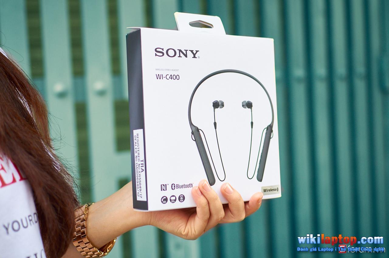 Sforum - Trang thông tin công nghệ mới nhất DSC_5808 Đánh giá Sony WI-C400 - Tai nghe không dây có thời lượng pin lên đến 20 giờ