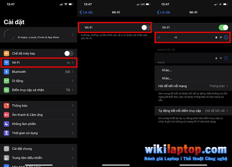 Sforum - Trang thông tin công nghệ mới nhất Chưa có tiêu đề-1-10 Hướng dẫn cách khắc phục lỗi Wifi trên iPhone