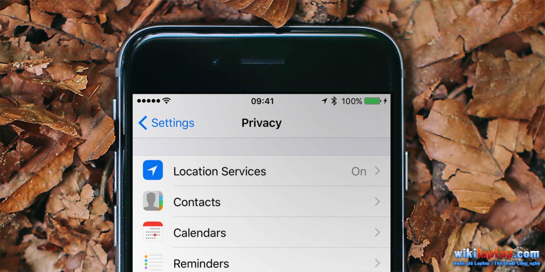 Sforum - Trang thông tin công nghệ mới nhất kiểm tra tiêu đề riêng tư của bạn Kiểm tra cài đặt bảo mật iPhone chỉ bằng hai bước đơn giản
