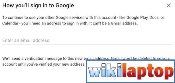 Gửi email xác minh