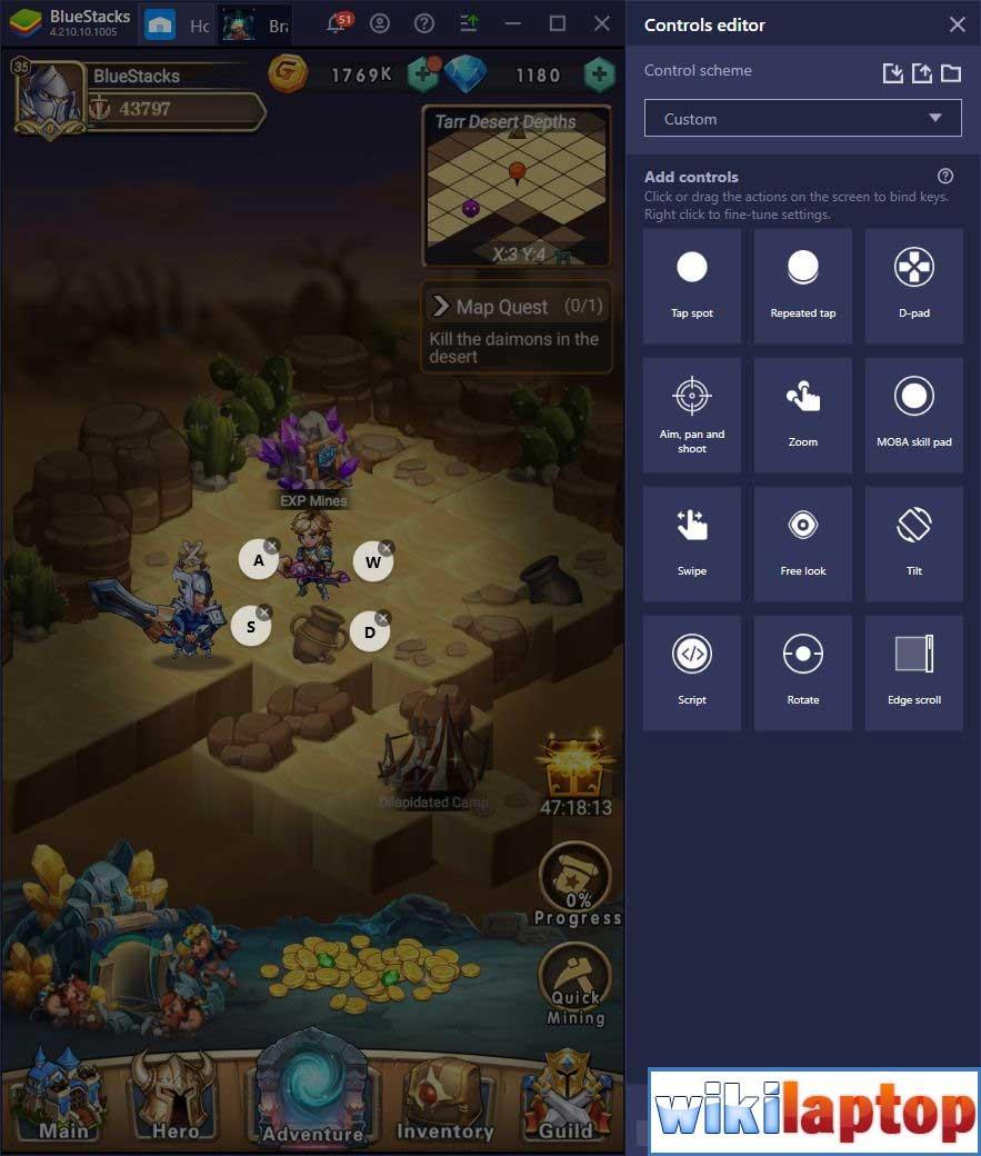 Điều khiển Game Brave Dungeon