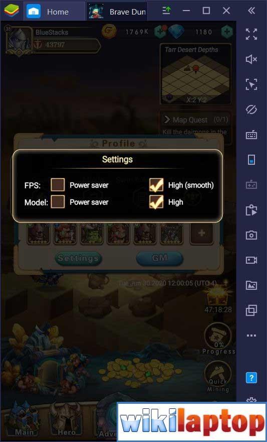 Cài đặt Game Brave Dungeon