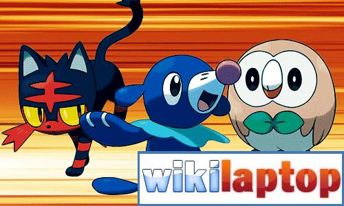 Pokemon khởi đầu thế hệ thứ bảy