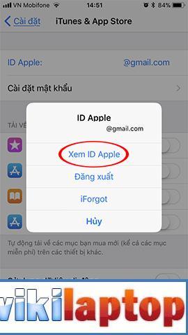 Xem ID Apple