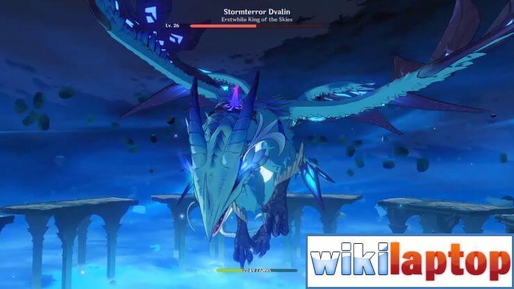 Stormterror Dvalin từ Genshin Impact