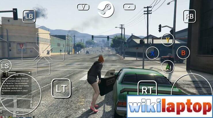 Chơi GTA 5 trên di động qua Steam Link