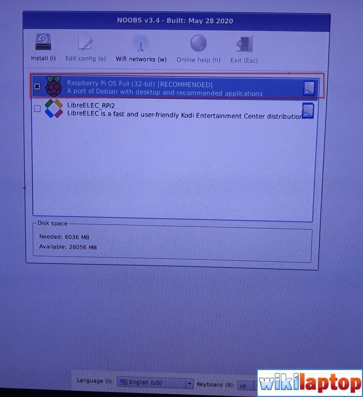 Cài đặt Raspberry Pi 01