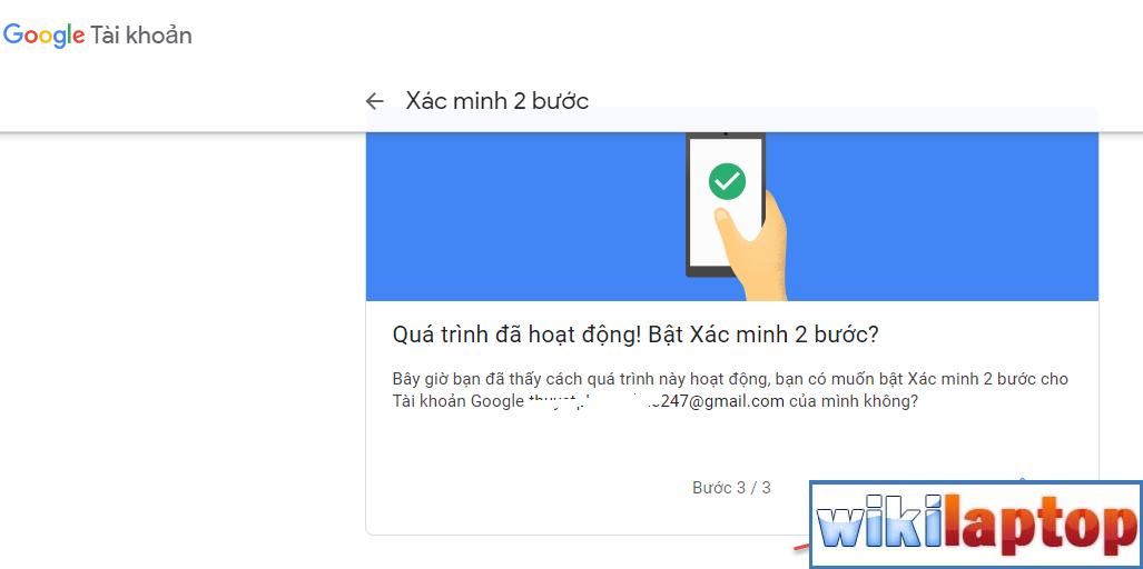 bảo mật gmail bằng mã email 05