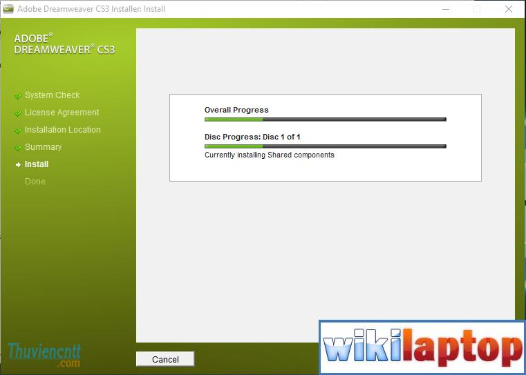 Download dreamweaver CS3 full key - Cài đặt dreamweaver CS3 Full 7