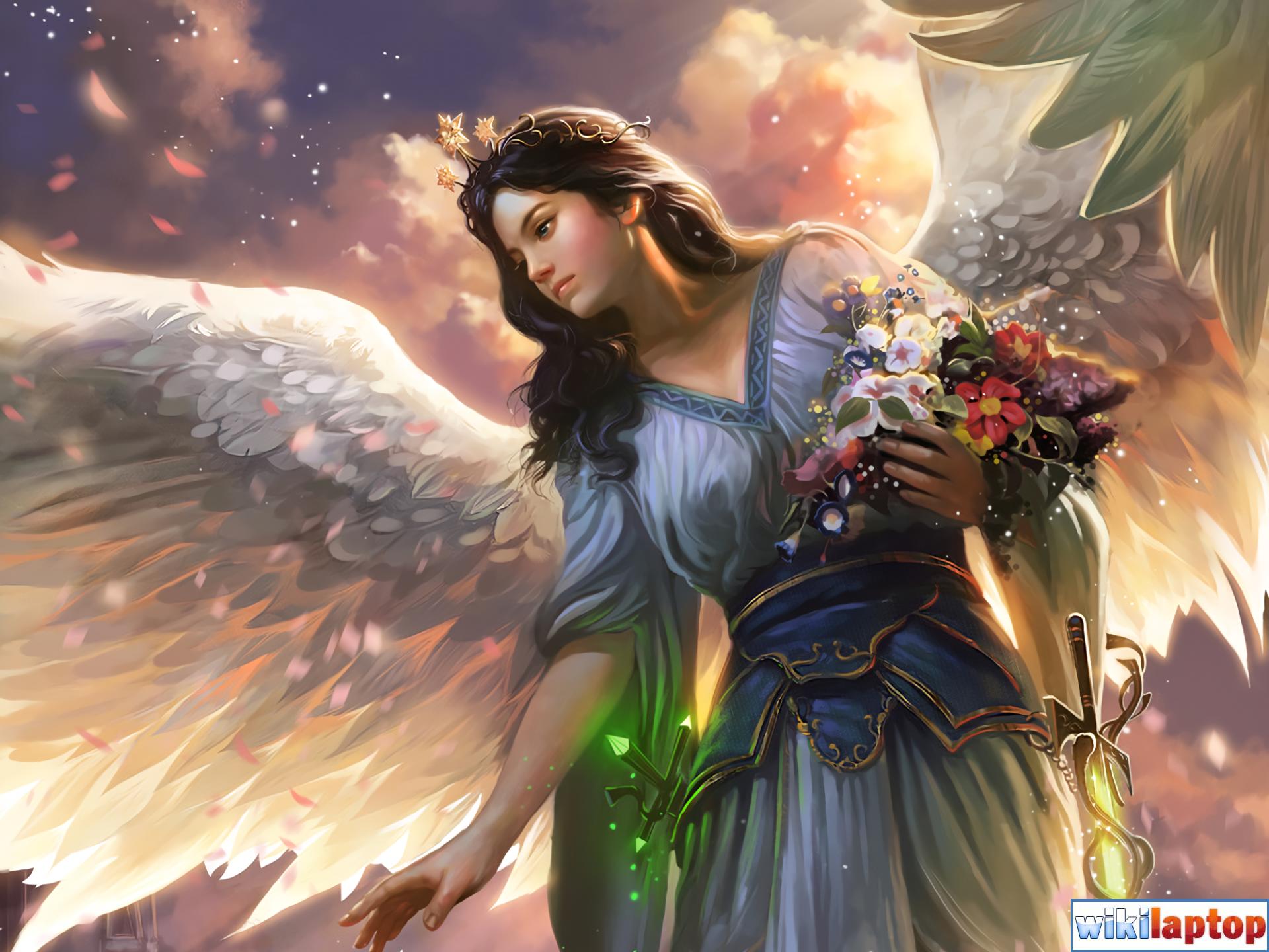 Hình ảnh thiên thần 14 đẹp nhất