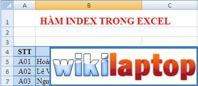 index-in-excel