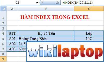 ham-index-in-excel